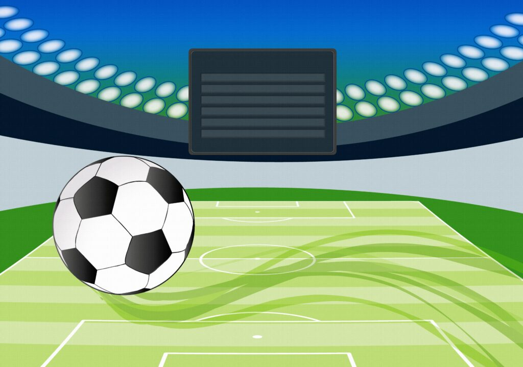 En fotbollsarena