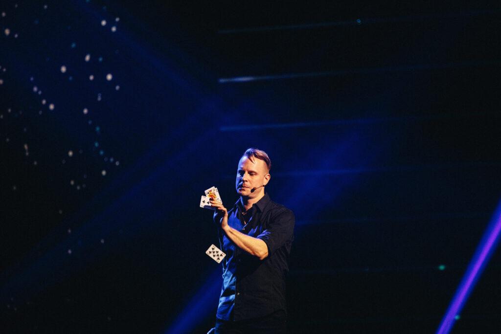 Magikern Johan Ståhl