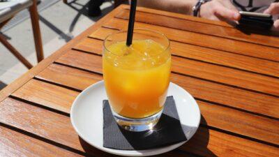Ett glas juice
