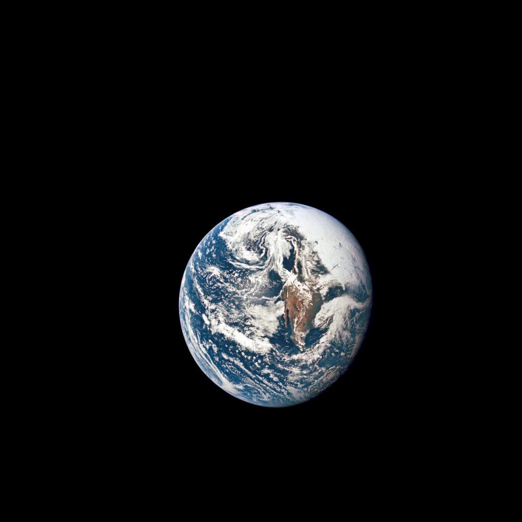 Jorden sedd utifrån
