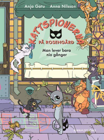 Veckans boktips kattspionerna på rosengård