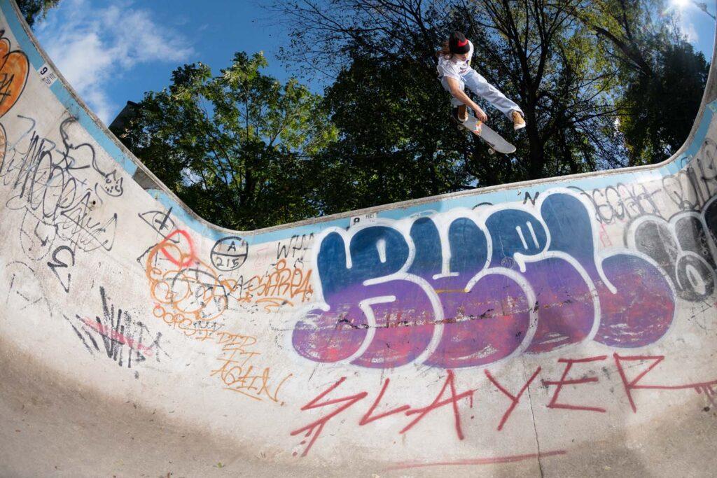 Skateboardåkaren Oski