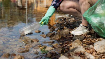 Många turister har blivit bättre på att plocka upp skräp efter sig.
