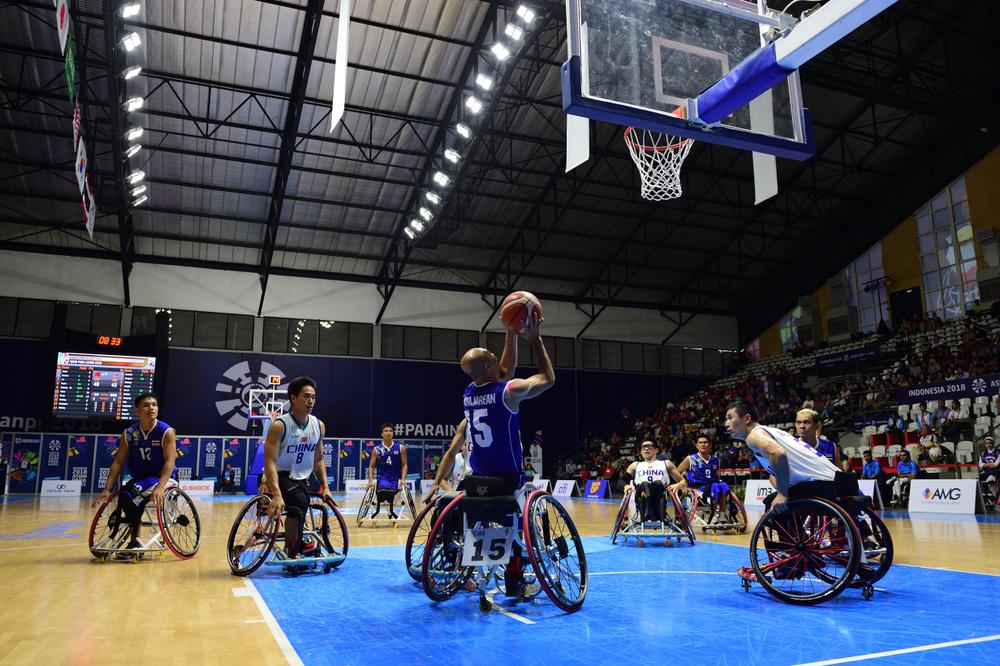 Paralympics hålls i Tokyo i Japan.