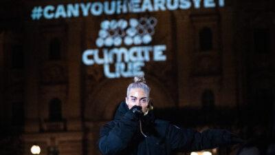 Greta arrangerar konsert för klimatet.