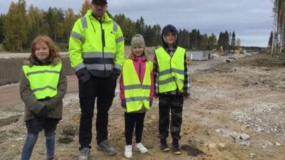Fanny Lundberg, Samuel Lidström, Celine Åkersson och Gustav Göransson.